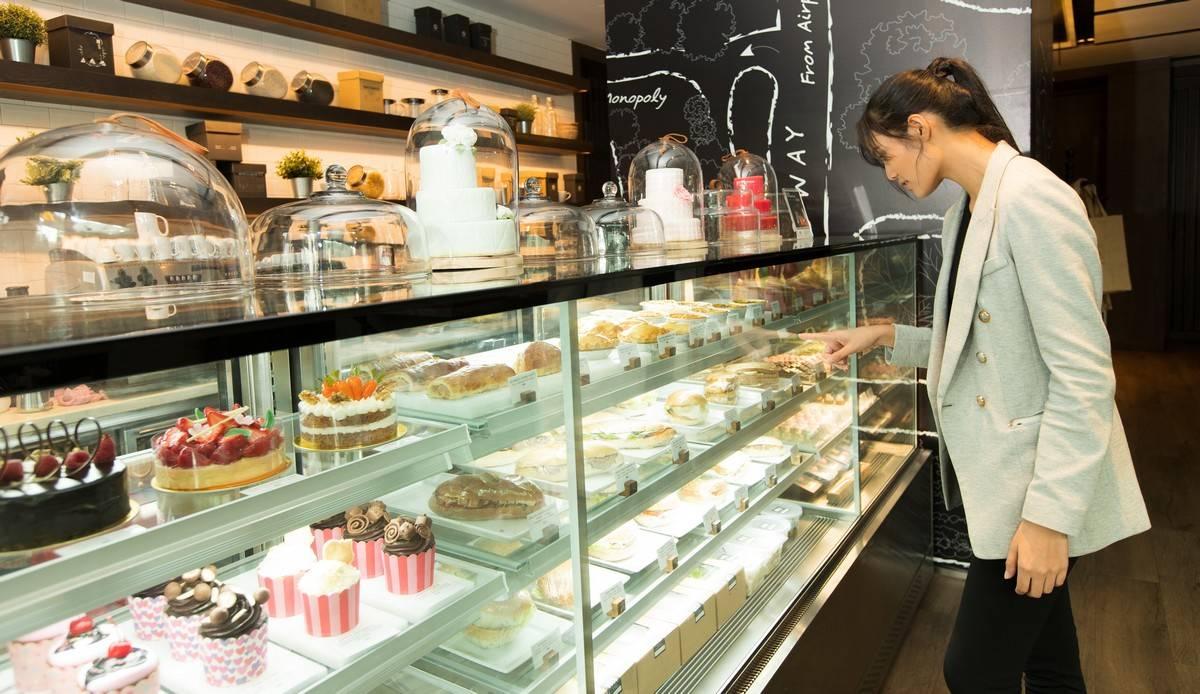 Réalisations pâtisserie vitrine